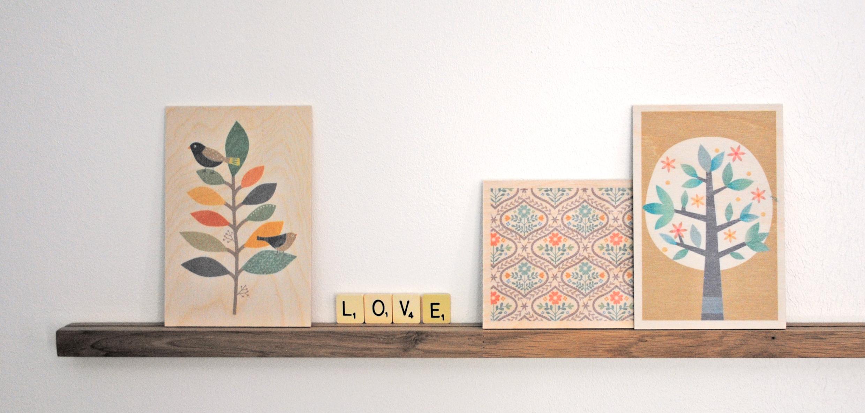 bandeau cartes en bois