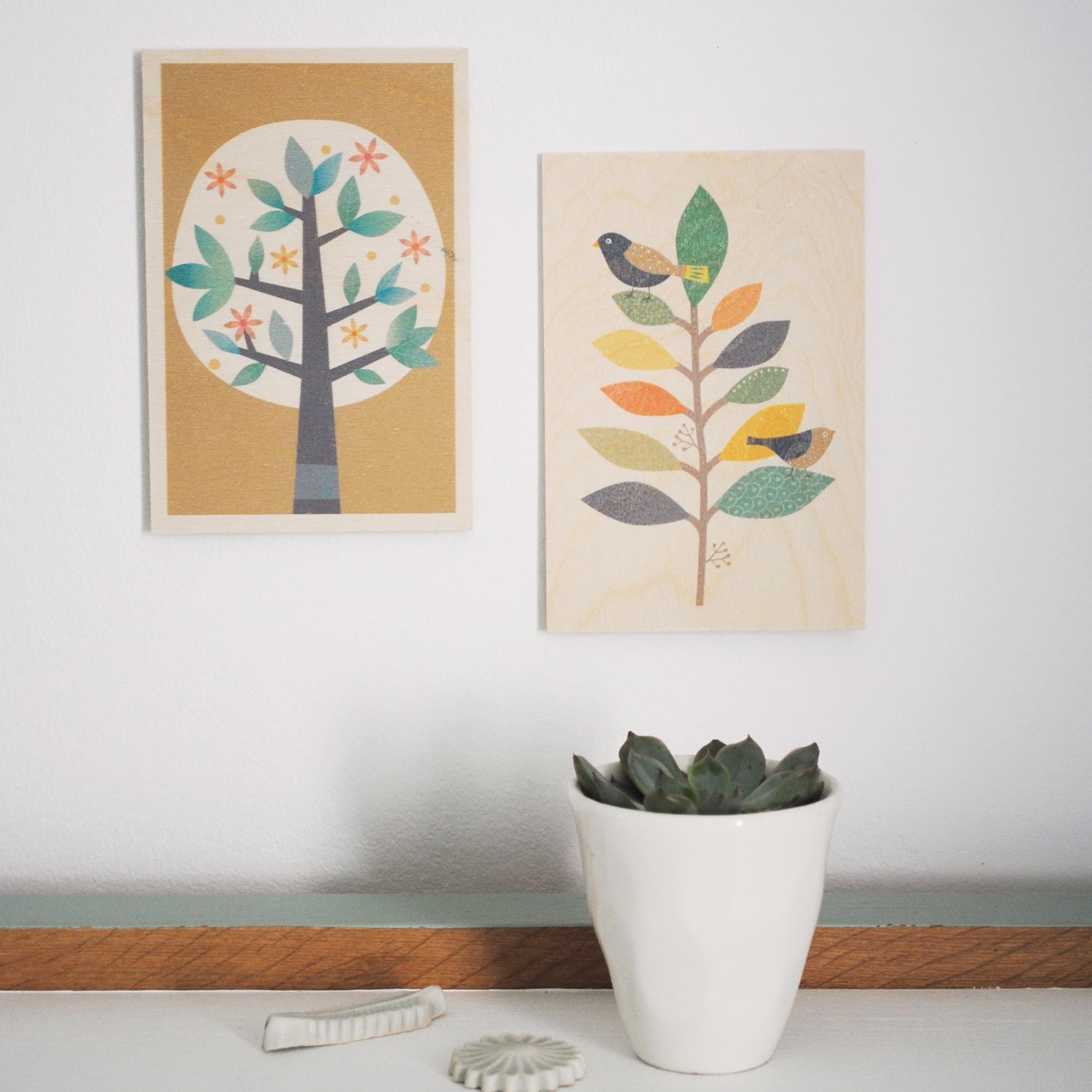 carte bois branche arbre