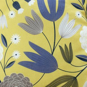 coussin tulipes lemon