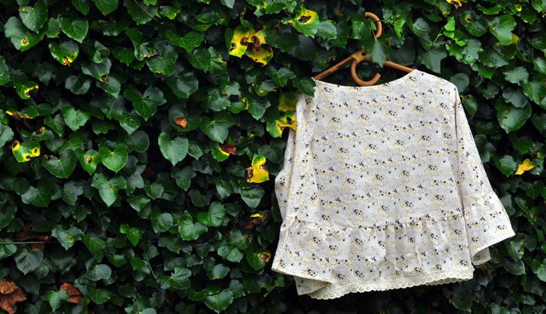 blouse:cintre