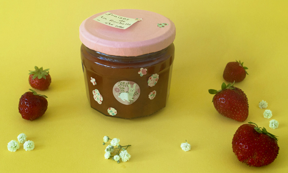 confitrure fraises